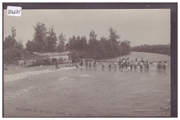 BEI LUZERN - HOCHWASSER AN DER EMME 15 JUNI 1910 - CARTE NON CIRCULEE - TB - LU Lucerne