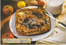 RECETTE DE CUISINE Les Recettes De Nos Grands Meres LA POMPE AUX POMMES Une Spécialité D' Auvergne - Recipes (cooking)