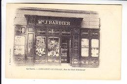 EGYPT CAIRE BOOK SHOP J. BARBIER BOOKS POSTCARDS .... - Le Caire