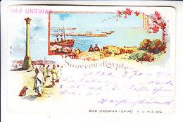 EGYPT GRUSS POSTED  ALEXANDRIA - AUSTRIA 1899 - Alexandria