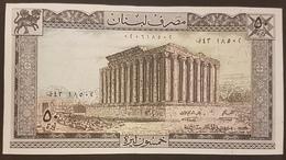 LEBANON 1973 Banknote 50 LIVRE UNC - Lebanon