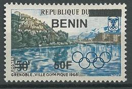 Benin 2009 MNH - Grenoble Olympics 1969 Ovptd 50F - Cv 35$ - Benin - Dahomey (1960-...)