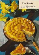 RECETTE DE CUISINE Emilie Bernard N° 64 La Tarte Aux Mirabelles ( CEDUS Centre D' Etudes Du Sucre ) - Recipes (cooking)