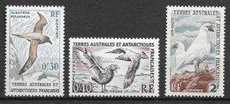 TAAF N°12 à 13A Oiseaux Marins 1959-63 ** - Neufs