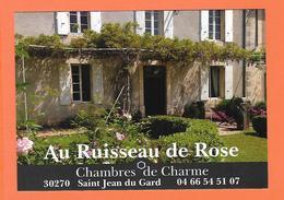 CP  SAINT JEAN DU GARD  Au Ruisseau De Rose  Chambres De Charme  2 - Saint-Jean-du-Gard
