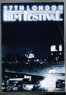 27 TH London Film Festival - 1983 - 79 Pages 21 X 15 Cm - Autres