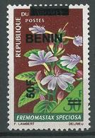 Details About  Benin 2009 MNH - Flower Ovptd 50F - Cv 70$ - Benin - Dahomey (1960-...)