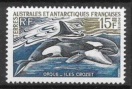 TAAF N°30 Orque épaulard 1969 ** - Terres Australes Et Antarctiques Françaises (TAAF)
