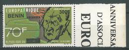 Details About  Benin 2009 MNH - EUROPA AFRICA 5th Anniv, Ovptd 300F - Cv 47$ - Benin - Dahomey (1960-...)