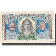 Billet, Espagne, 2 Pesetas, KM:95, TTB - [ 2] 1931-1936 : Repubblica