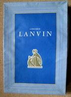 Boite Lingerie LANVIN Box Art Déco Vintage French Fashion Mode Haute Couture Paris C1930 Rare ! - Andere