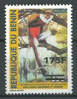 Benin 2009 MNH - Primate Animal Ovptd 175F - Benin - Dahomey (1960-...)