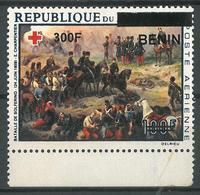 Benin 2008 MNH - Battle Of Solferino Painting, Red Cross Ovptd 300F - Cv 93$ - Benin - Dahomey (1960-...)
