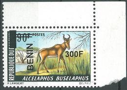Benin 2008 MNH - Alcephalus Animal Ovptd 300F - Cv 116$ - Benin - Dahomey (1960-...)
