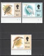 V1273 NIUE FAUNA BIRDS !!! MICHEL 24 EURO !!! 1SET MNH - Birds