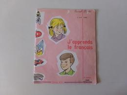 """Cahier Cours Préparatoire """" J'apprends Le Français """" éditions M.D.I , 32 Pages, 1964 - Books, Magazines, Comics"""