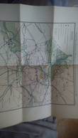 Carte Projet D'agrandissement D'Anvers Militaire 1900 - Documents Historiques