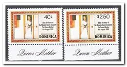 Dominica 1980, Postfris MNH, 80th Birthday Of Queen Elisabeth - Dominica (1978-...)
