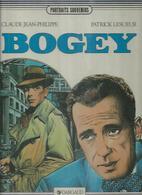 """"""" BOGEY """" - CLAUDE JEAN-PHILIPPE / LESUEUR  - E.O  MARS 1985 DL AVRIL 1985 ( HUMPHREY BOGART ) - Non Classés"""