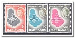 Barbados 1962, Postfris MNH, 50 Years Scouting - Barbados (1966-...)