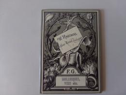 """Atlas Manuel Zoologique Par W. Hagelberg """" Mollusques, Vers Etc... """" Fin 19 ème 48 Dessins En 4 Tableaux Complet - Books, Magazines, Comics"""