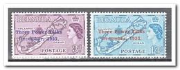 Bermuda 1953, Postfris MNH, Three Powers Conference - Bermuda