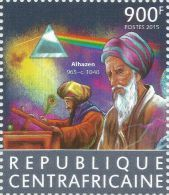 Central Africa 2015 Alhazen Egypt Mathematician Maths Physics 1v Stamp MNH 421 - Non Classificati