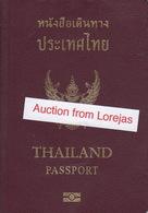 Thailand Biometric Passport, Reisepass, Passeport, Passaporte, Paspoort, Reispas Thailand 2005 - Historical Documents