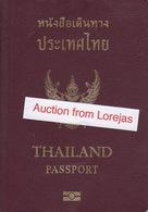 Thailand Biometric Passport, Reisepass, Passeport, Passaporte, Paspoort, Reispas Thailand 2007 - Historical Documents