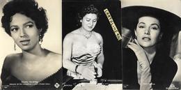 Attrice Attore Cyd Charisse Tonina Torrielli Dorothy Dandrige Anni 40/50 (3 Cartoline) - Acteurs