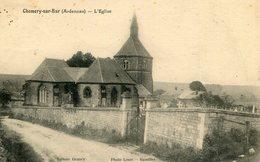 CHEMERY CHEHERY - L'église De Chemery Sur Bar Le Curé Demande Au Représentant De Ne Pas Oublier Le Vin Blanc - Autres Communes
