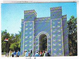 IRAQ  BABYLONE   LA PORTE  D ISHTAR  CPM  TBE AU555 - Iraq