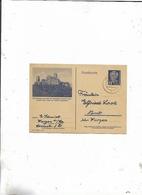 Karte Von Wurzen Nach Nemt 1950/Bild Von Der Wartburg! - Briefe U. Dokumente