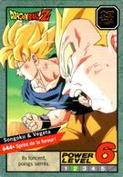 Carte 644 Dragon Ball Z Carddass 1996 Power Level Fr Le Grand Combat DBZ Vegeta Son Goku - Dragonball Z