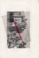 37 - CHENONCEAUX  - GRAVURE 1885- - Engravings