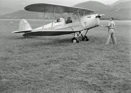 Photo Ancienne Avion Stampe - Aviation