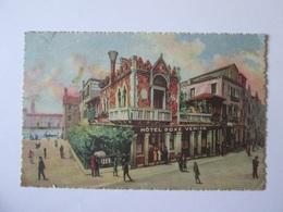 Italy-Venezia/Venice-Hotel Doxe Venier,used Postcard From 1928 - Venezia (Venice)