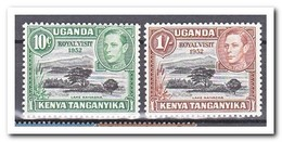 East African Community 1952, Postfris MNH, Visit Of Princess Elisabeth And Prince Philip - Postzegels