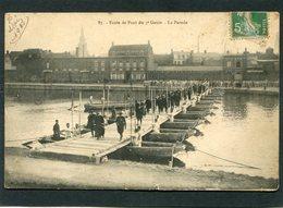 CPA - Ecole De Pont Du 3è Génie - La Parade, Très Animé - Manoeuvres