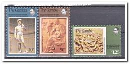 Gambia 1975, Postfris MNH, Birthday Of Michelangelo Buonarroti - Gambia (1965-...)
