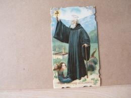 MONDOSORPRESA, (ST243) SANTINO, SANTINI,  SAN GIOVANNI GUALBERTO, PRIMI 900 - Images Religieuses