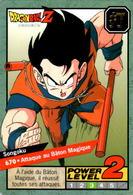 Carte 670 Dragon Ball Z Carddass 1997 Power Level Fr Le Grand Combat DBZ Son Goku - Dragonball Z