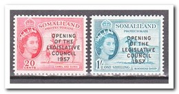 Somaliland 1957, Postfris MNH, Opening Of The Legislative Council 1957 - Somalië (1960-...)
