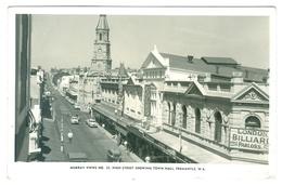 1940/50's? Australia, Fremantle, High Street Showing Town Hall. Real Photo Pc, Unused. - Fremantle