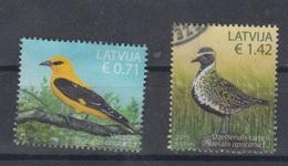 Latvia 2015  Mi 947-8 Used Birds - Lettonie