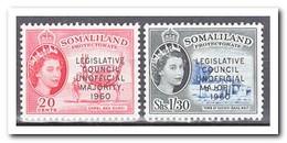 Somaliland 1960, Postfris MNH, Legislative Council Unofficial Majority 1960 - Somalië (1960-...)