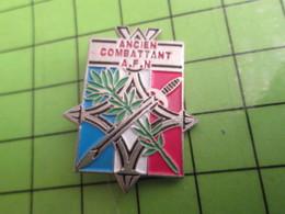 310a PIN'S PINS / Rare Et De Belle Qualité / THEME MILITARIA / ANCIEN COMBATTANT (et Battu) AFN AFRIQUE DU NORD - Militaria