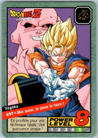 Carte 697 Dragon Ball Z Carddass 1997 Power Level Fr Le Grand Combat DBZ Vegeku Boo - Dragonball Z