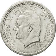 Monnaie, Monaco, Louis II, 2 Francs, Undated (1943), SUP, Aluminium - Monaco