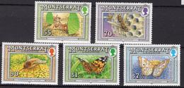 1992 - MONTSERRAT-  Mi. Nr. 848/850+853+856 - NH - (UP121.8) - Montserrat